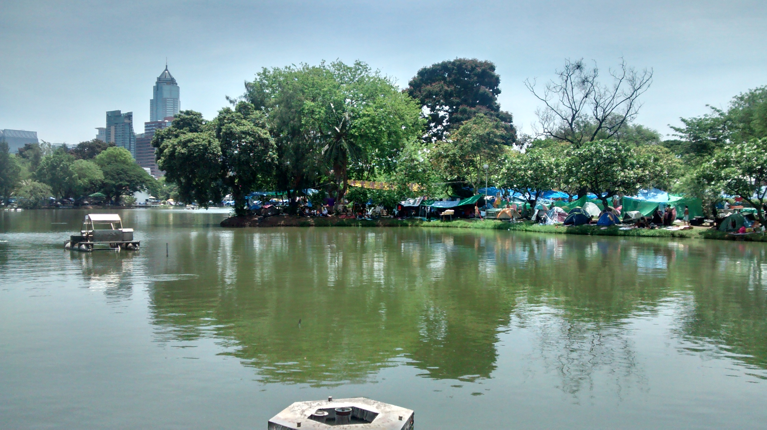 Lumphini Park Protest Camp