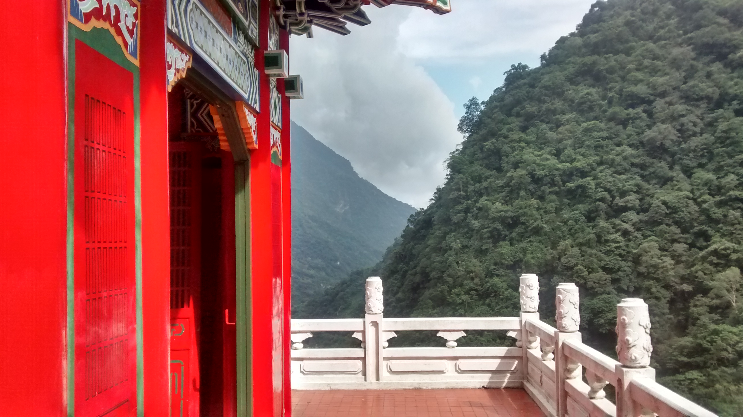 From a Buddhist Temple at Taroko Gorge